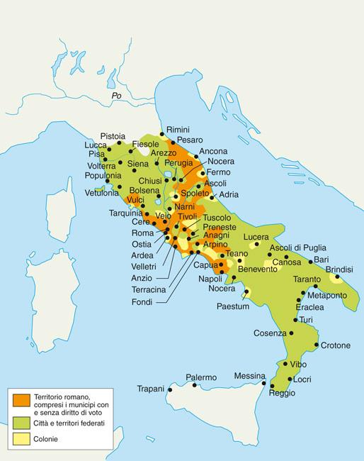 Risultato immagini per colonie romane