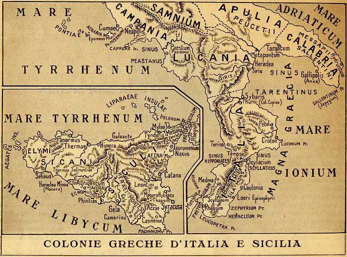 Cartina Puglia Grecia.Magna Grecia Origine Del Nome 1 2 Storia Romana E Bizantina