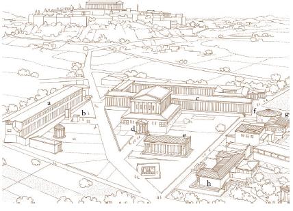 Agor significato e funzioni nella grecia antica storia for Cartina della grecia antica da stampare