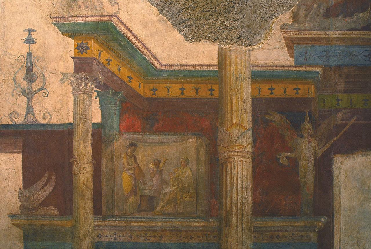 Storia della pittura romana 2 prima et imperiale for 2 case di storia in florida